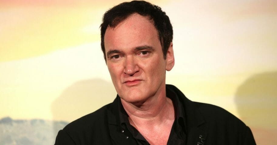 "Movie director Quentin Tarantino attends the premiere of the movie ""Once Upon a Time in Hollywood"" in Rome in August."