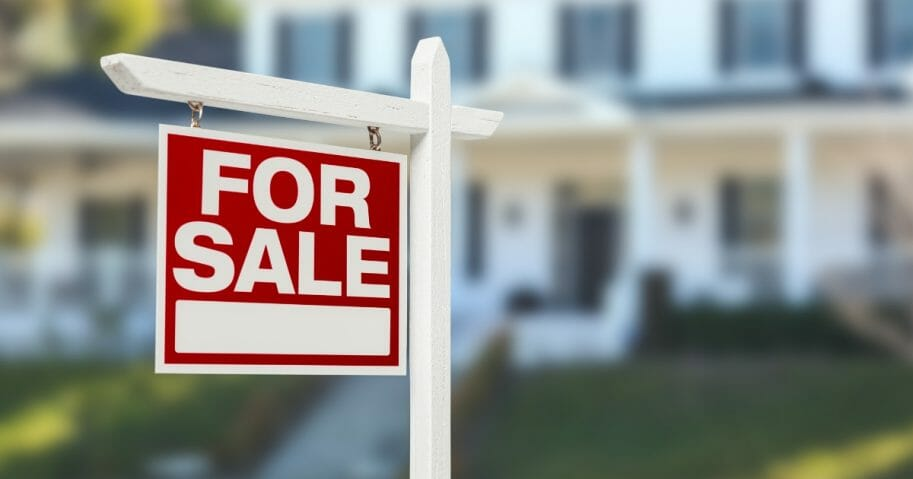 A Utah man allegedly decided to move into a vacant home anyway after the owner of the property refused to accept his low-ball offer. The image above is a stock photo of a for-sale sign.