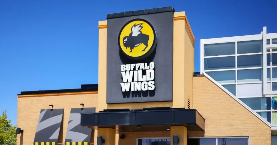 Stock image of a Buffalo Wild Wings location.