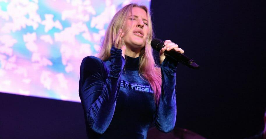 Ellie Goulding performs at Northwell Health at Jones Beach Theater in Wantagh, New York, on June 15, 2019