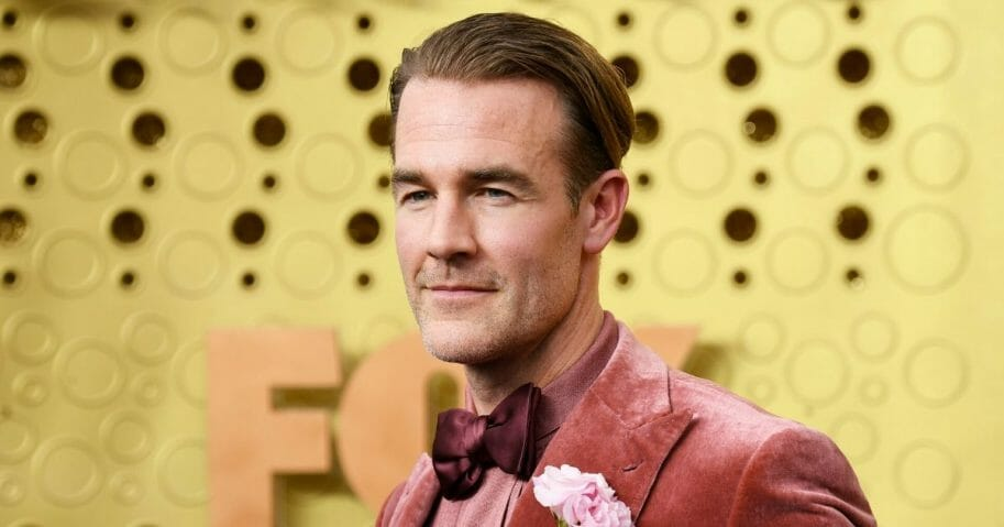 James Van Der Beek attends the 71st Emmy Awards at Microsoft Theater on Sept. 22, 2019, in Los Angeles, California.