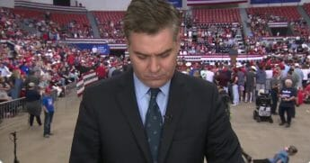 Another day, another hilarious moment that is sure to chip away at CNN anchor Jim Acosta's bumptious journalistic self-importance.