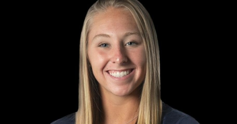 Melanie Coleman, a gymnast at Southern Connecticut State University who died after a training accident.