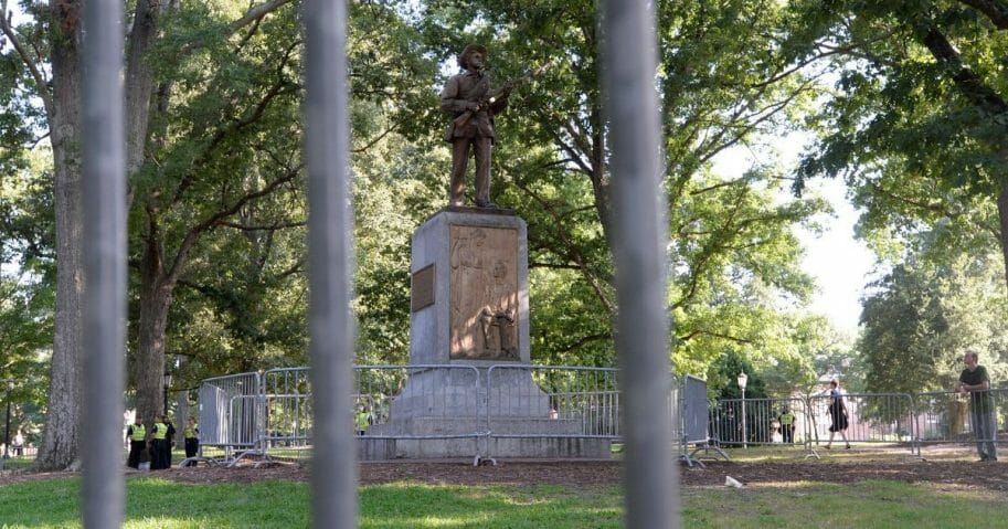 "Rally Protesting UNC's Confederate Era Monument ""Silent Sam"" Held On Campus"
