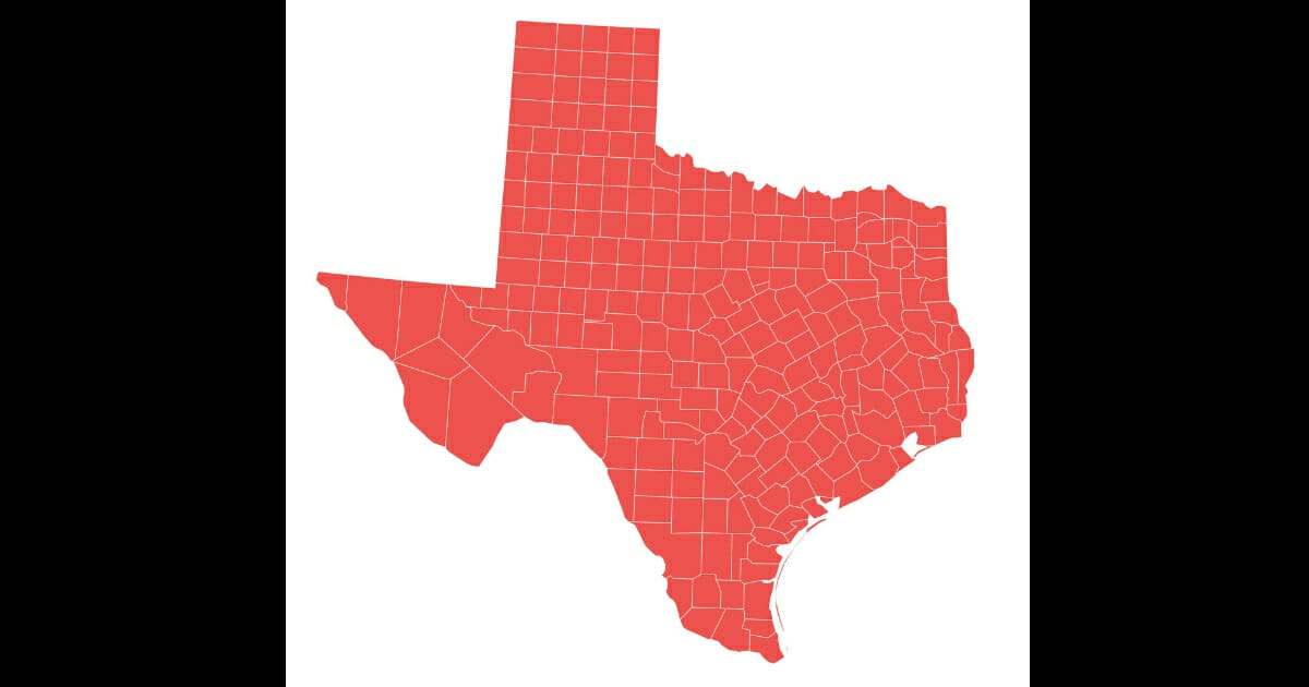 We were all told that Texas was going to be in play during the next election -- if not turning blue. New numbers show that's likely not happening.
