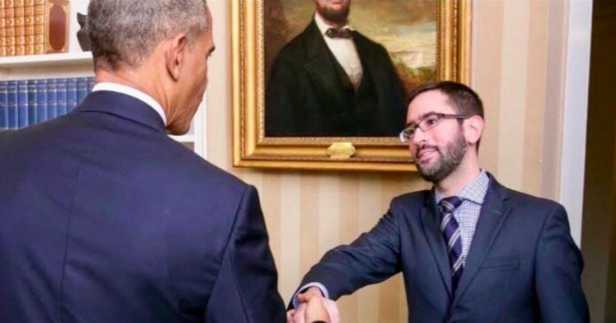 Alleged whistleblower Eric Ciaramella reportedly is seen shaking hands with former President Barack Obama.