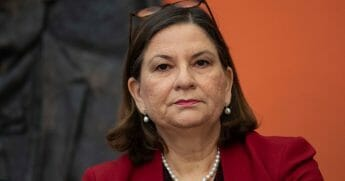 Mexican Ambassador to the United States Martha Barcena pictured in a file photo from June.