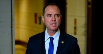 Democratic California Rep. Adam Schiff, the Chairman of the House Intelligence Committee, speaks to the media on Capitol Hill after witnesses failed to show up for closed-door testimony during the impeachment inquiry against President Donald Trump in Washington, D.C. on Nov. 4, 2019.