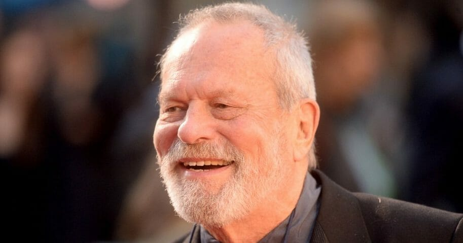 "Terry Gilliam attends ""The Irishman"" International Premiere and Closing Gala during the 63rd BFI London Film Festival at the Odeon Luxe Leicester Square on Oct. 13, 2019, in London."