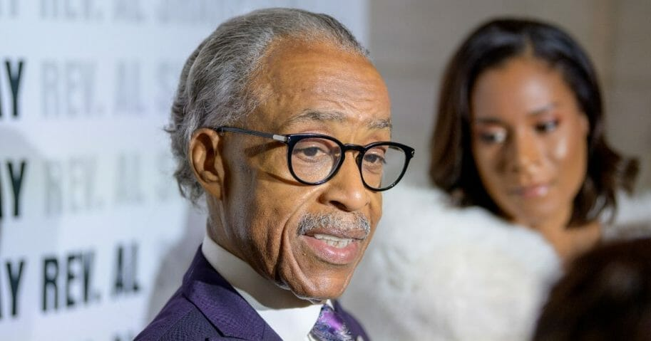 Rev. Al Sharpton attends his 65th Birthday Celebration at the New York Public Library.