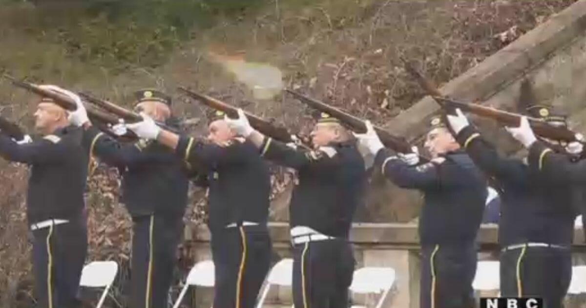 Gun salute canceled at the University of Virginia.