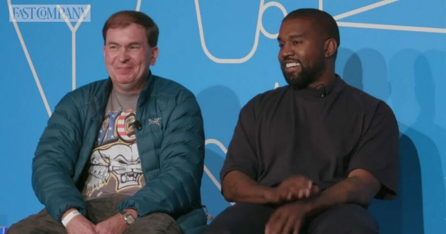 Kanye West at Fast Company's Innovation Festival.