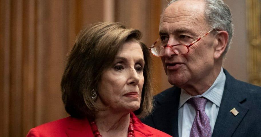 House Speaker Nancy Pelosi and Senate Minority Leader Chuck Schumer
