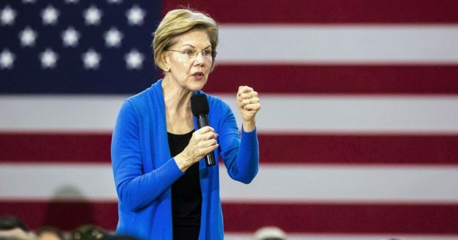Sen. Elizabeth Warren of Massachusetts