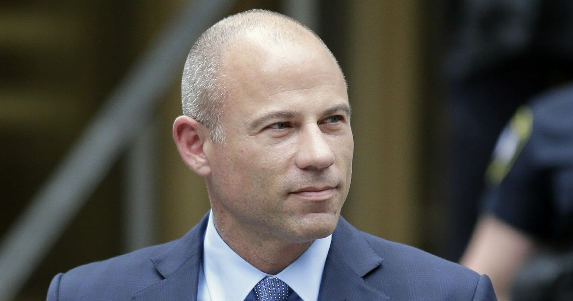 Michael Avenatti leaves a courthouse in New York on May 28, 2019.