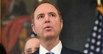 House Permanent Select Committee on Intelligence Chairman Adam Schiff, Democrat of California, announces articles of impeachment for U.S. President Donald Trump during a press conference at the U.S. Capitol in Washington, D.C., Dec. 10, 2019.