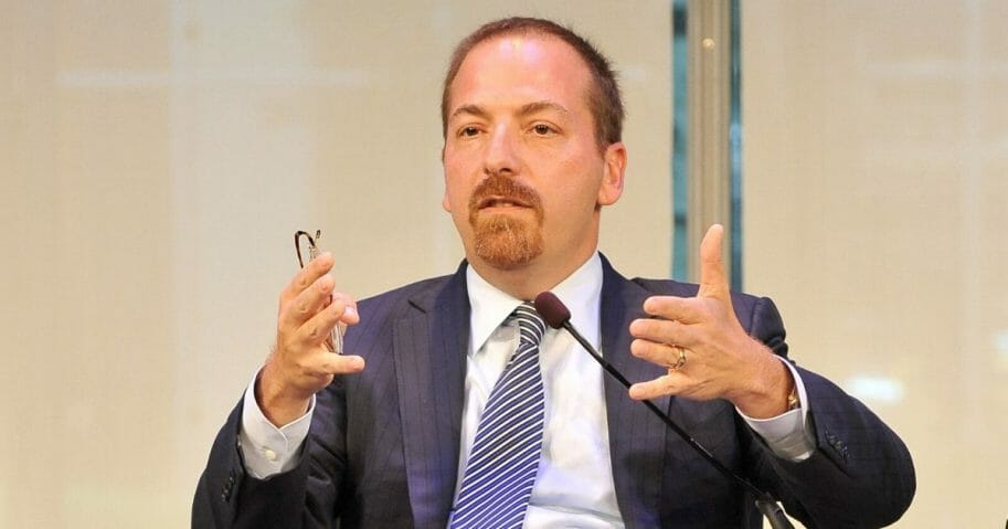 "NBC News Political Director and Moderator of ""Meet the Press"" Chuck Todd"