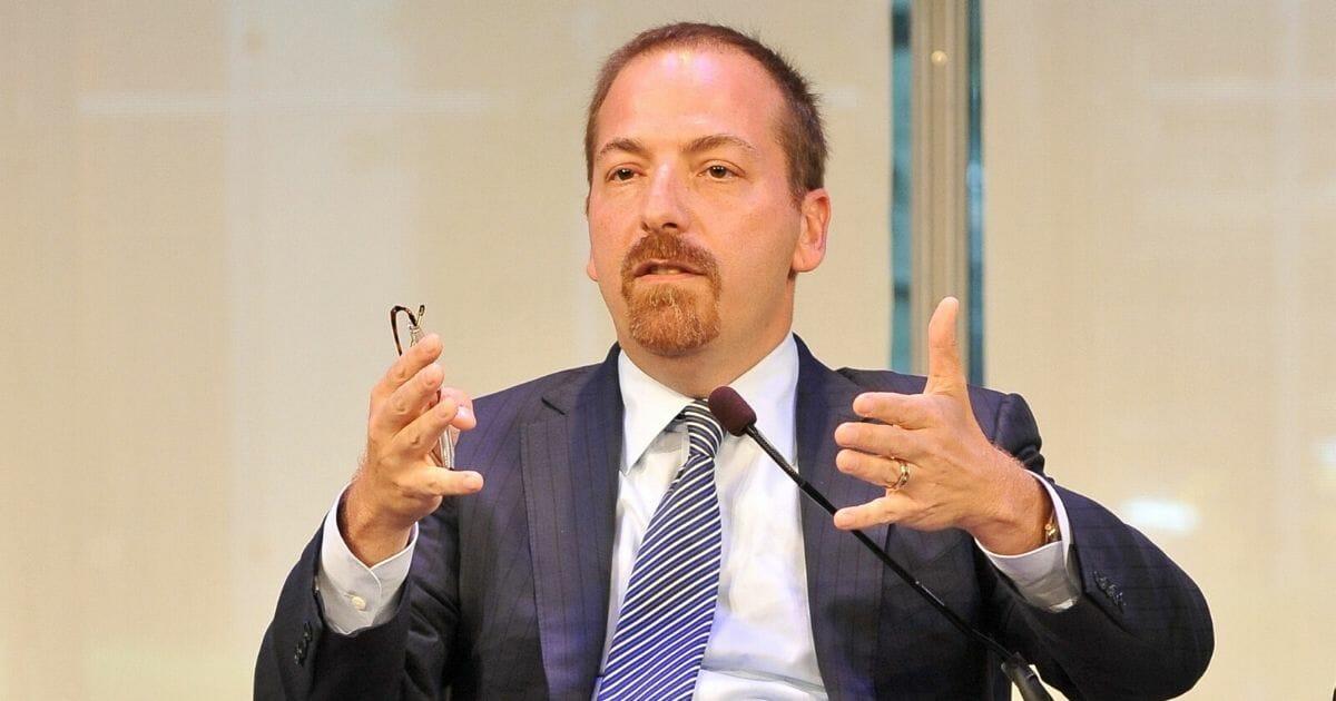 "NBC News Political Director and Moderator of ""Meet the Press"" Chuck Todd"