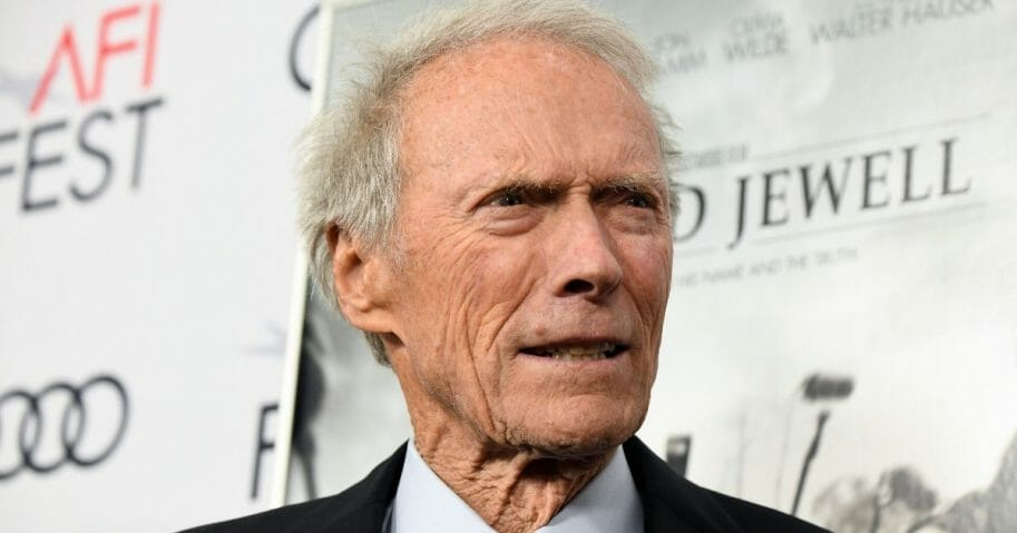 """Clint Eastwood attends the """"Richard Jewell"""" premiere at TCL Chinese Theatre in Hollywood, California, on Nov. 20, 2019."""