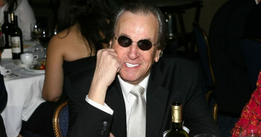 Actor Danny Aiello attends The National Italian American Foundation East Coast Gala at the Marriot Marquis Hotel on April 18, 2006, in New York, New York.