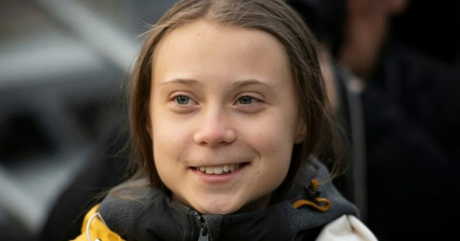 Greta Thunberg attends Fridays For Future Strike on Dec. 13, 2019, in Turin, Italy.