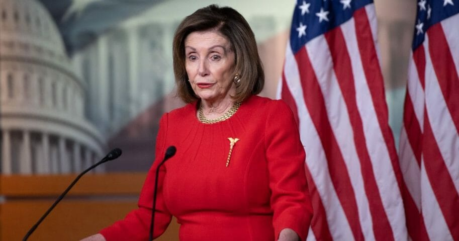 Democratic Speaker of the House Nancy Pelosi