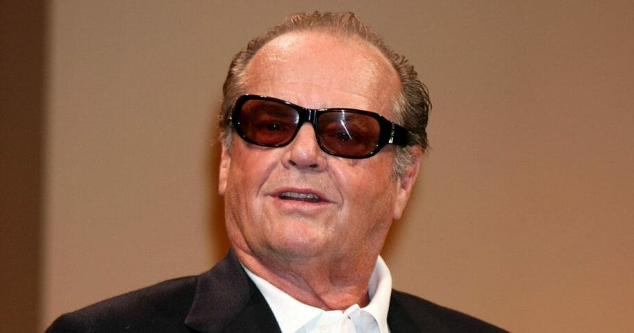 """Actor Jack Nicholson attends """"The Bucket List"""" press conference at Grand Hyatt Tokyo on April 30, 2008, in Tokyo, Japan."""