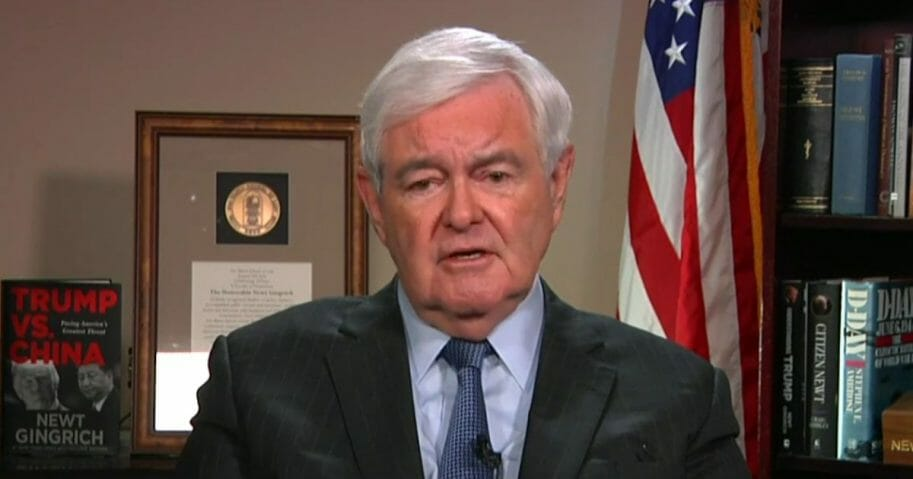 In an appearance Friday on Fox News, former House Speaker Newt Gingrich said current House Speaker Nancy Pelosi was lying about why former President Bill Clinton got impeached.