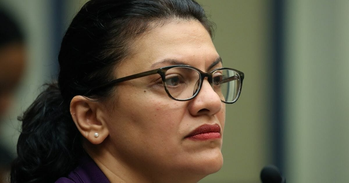 Rep. Rashida Tlaib (D-Michigan) participates in a House Oversight and Reform Sub-Committee hearing on Capitol Hill on Sept. 24, 2019, in Washington, D.C.