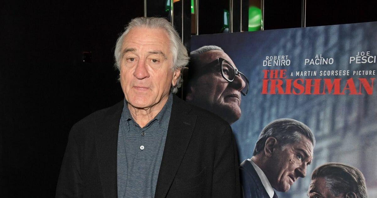 Robert De Niro attends a screening of 'The Irishman'