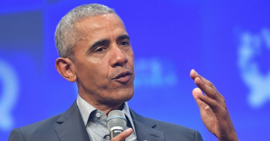 Former President Barack Obama is pictured in a file photo from a speech in Munich in September.