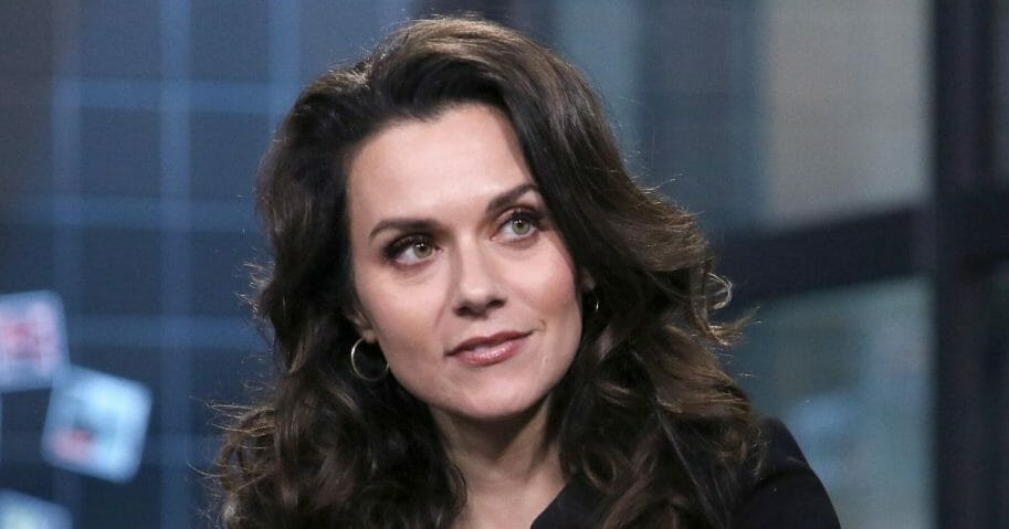 "Actress Hilarie Burton attends the Build Series to discuss ""A Christmas Wish"" at Build Studio on Nov. 19, 2019, in New York City."