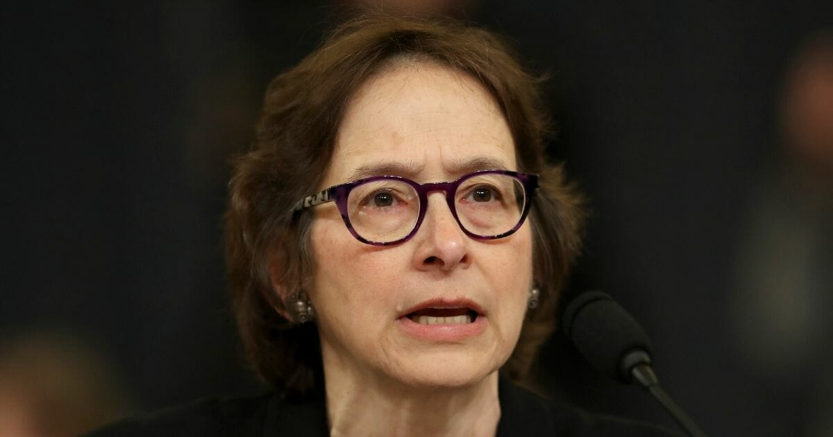 Law professor Pamela Karlan of Stanford Law School testifies before the House Judiciary Committee in the Longworth House Office Building on Capitol Hill on Dec. 4, 2019, in Washington, D.C.