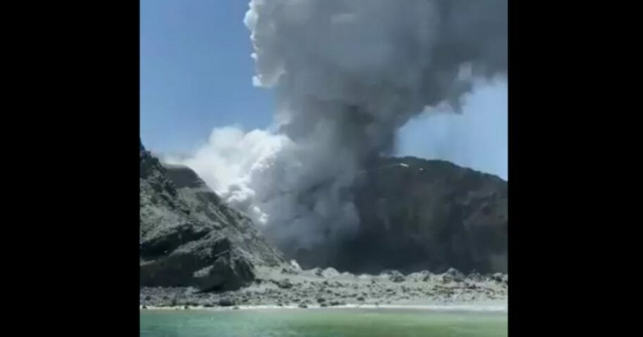 At least five people are dead and more than 20 are missing after a volcano erupted Monday on White Island off the coast of New Zealand.