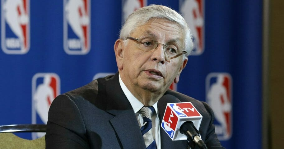 Former NBA Commissioner David Stern.