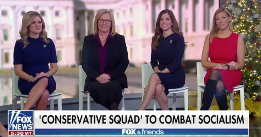 Conservative Squad 'Fox & Friends' Appearance
