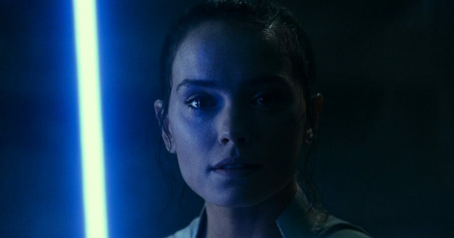 """Daisy Ridley plays Rey in a scene from """"Star Wars: The Rise of Skywalker"""