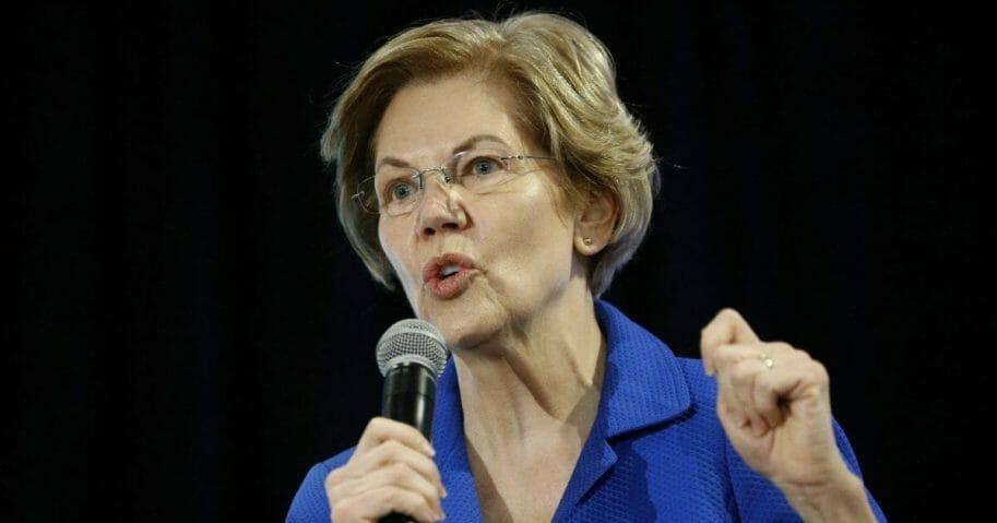 Democratic Sen. Elizabeth Warren