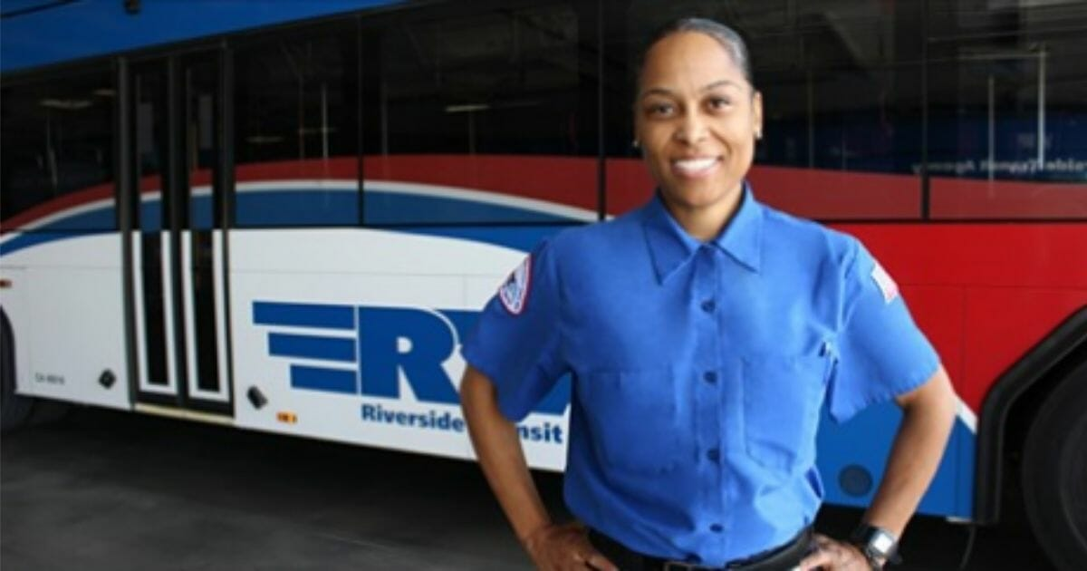 Camille Wilson, a bus driver for the Riverside Transit Agency, helped a man with dementia get back home.