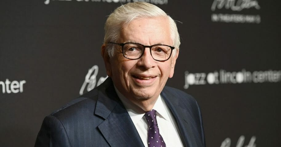 David Stern attends Jazz at Lincoln Center's 2019 Gala on April 17, 2019, in New York City.