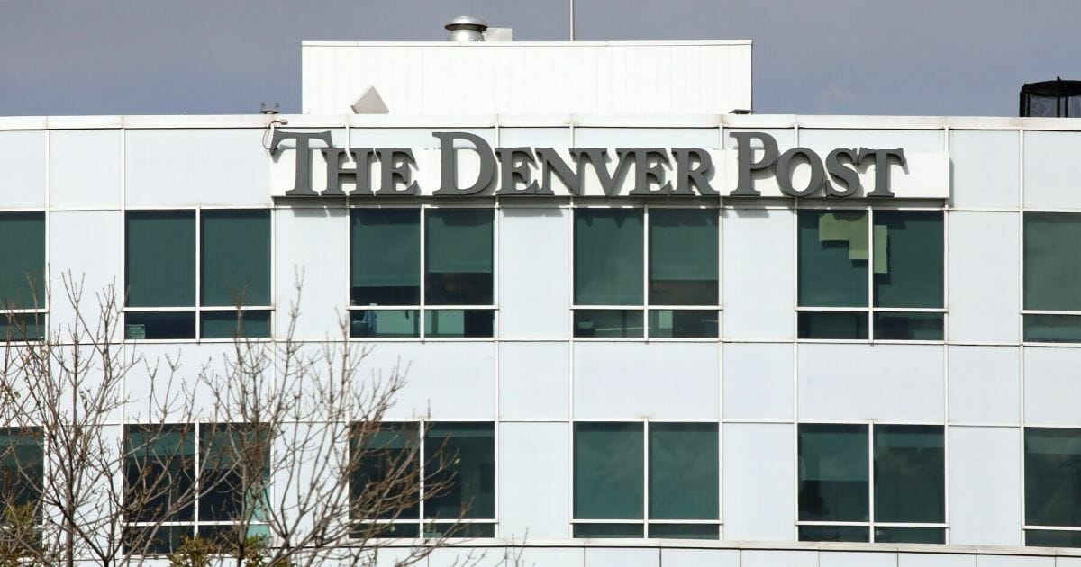 The Denver Post headquarters in downtown Denver is seen Oct. 24, 2019.