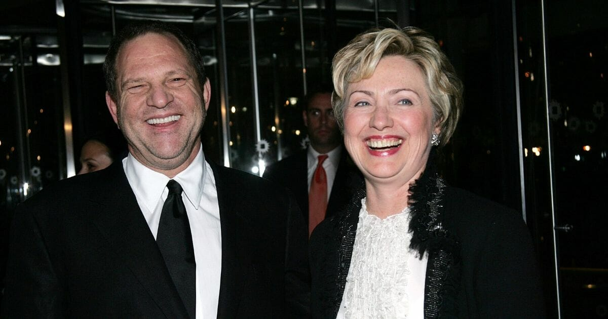 Hillary Clinton Defends Her Connection with Harvey Weinstein: 'How Could We Have Known?'