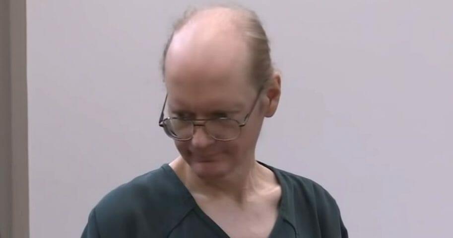 Joseph Gobrick appears in court.