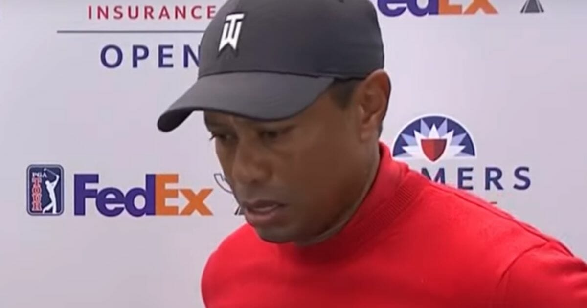 Tiger Woods talks about Kobe Bryant after learning of the former NBA star's death.