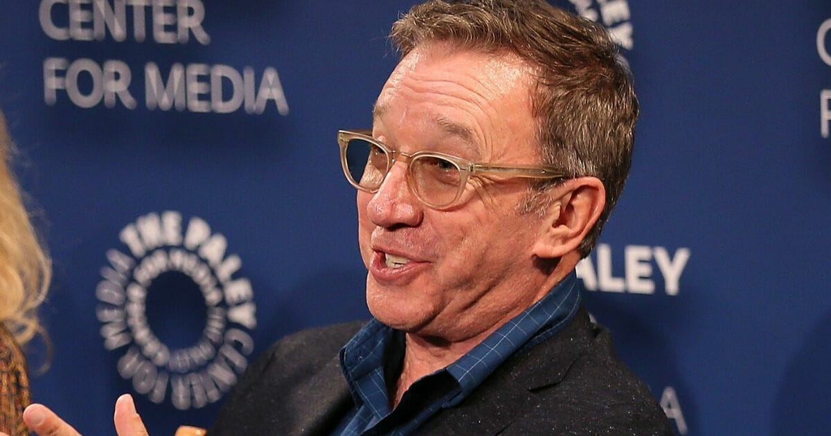 """Tim Allen from """"Last Man Standing"""" appears on the stage at The Paley Center for Media on Sept. 13, 2018, in Beverly Hills, California."""