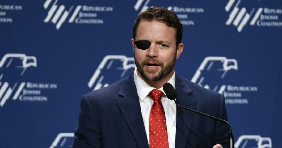U.S. Rep. Dan Crenshaw is pictured in a file photo from the Republican Jewish Coalition meeting in April in Las Vegas.