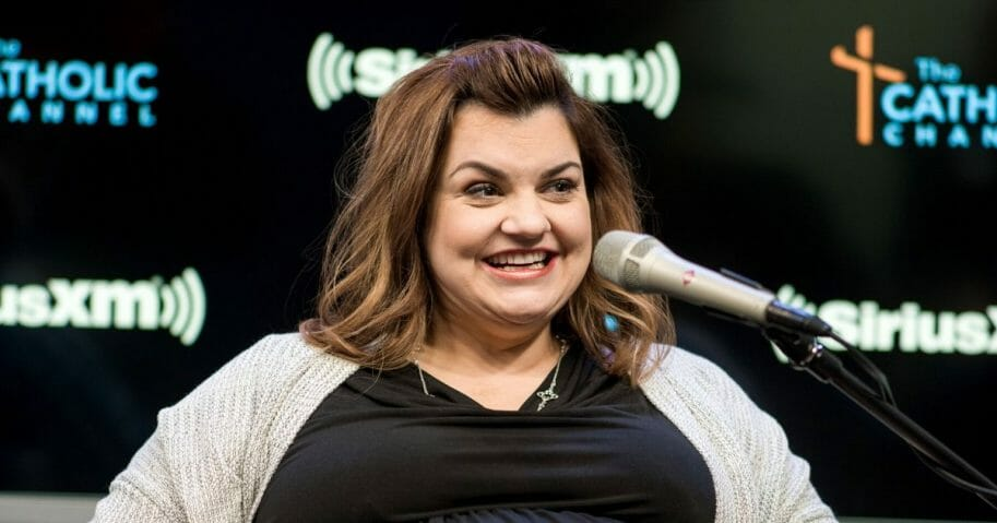Pro-life activist Abby Johnson visits SiriusXM Studios on March 19, 2019, in New York City.