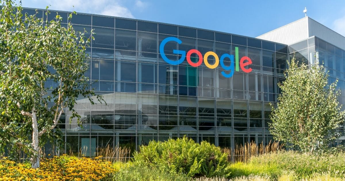Google's corporate headquarters in Mountain View, California.