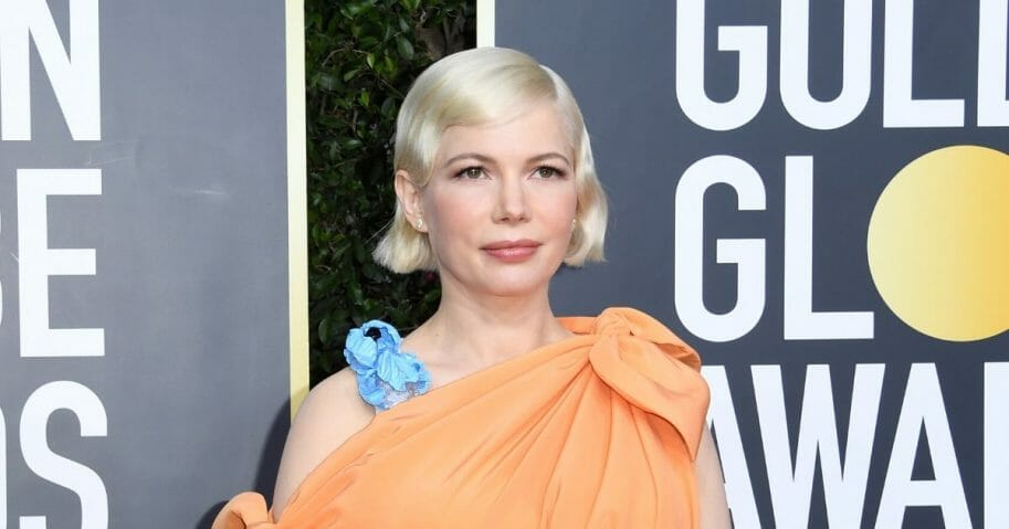 Actress Michelle Williams attends the 77th Annual Golden Globe Awards at The Beverly Hilton Hotel on Jan. 5, 2020, in Beverly Hills, California.