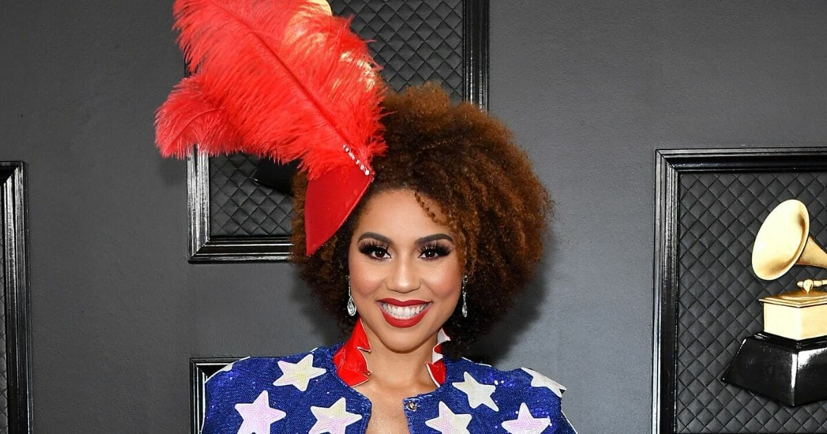 Singer Joy Villa attends the 62nd Annual Grammy Awards at the Staples Center on Jan. 26, 2020, in Los Angeles.